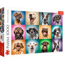 Пазл Trefl, 1000 элементов - Смешные собаки