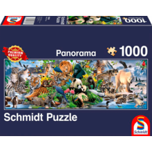 Пазл Schmidt, 1000 элементов - Царство диких животных