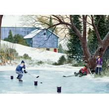 Пазл Cobble Hill, 500 элементов - Хоккейная тренировка