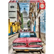 Пазл Educa, 1000 элементов - Винтажное авто в старой Гаване