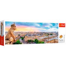Пазл Trefl, 1000 элементов - Вид с собора Нотр-Дам на Париж