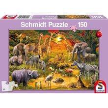 Пазл Schmidt, 150 элементов - Животные Африки