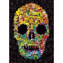 Пазл Heye,1000 элементов - Сумашедший череп