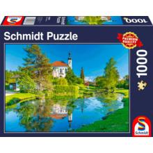 Пазл Schmidt, 1000 элементов - Брайтбрунн-ам-Кинзее. Бавария