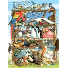 Пазл Cobble Hill, 400 элементов - Птицы мира