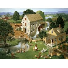 Пазл Cobble Hill, 500 элементов - Водная мельница