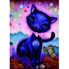 Пазл Heye, 1000 элементов - Черный котенок, J. Ketner