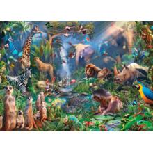 Пазл Cobble Hill, 1000 элементов - В джунглях