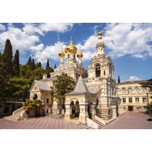 Пазл Castorland, 500 элементов - Собор Александра Невского, Ялта