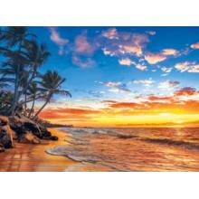 Пазл Clementoni, 500 элементов - Закат на пляже