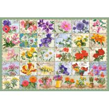 Пазл Castorland, 1000 элементов - Цветы. Коллаж