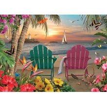 Пазл Cobble Hill, 500 элементов - Alan Giana: Райский остров