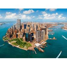 Пазл Castorland, 2000 элементов - Манхэттен до 11.09.2001