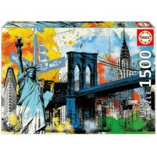 Пазл Educa, 1500 элементов - Символы Нью-Йорка