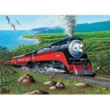 Пазл Cobble Hill, 1000 элементов - На поезде по побережью Тихого океана
