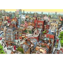 Пазл Heye, 2000 элементов - Шерлок Холмс