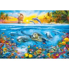 Пазл Clementoni, 6000 элементов - Подводная жизнь
