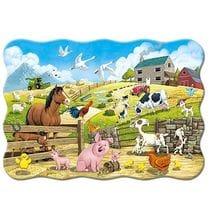 Пазл Castorland, 20 элементов - Животные на ферме