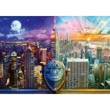 Пазл Schmidt, 1000 элементов - Л. Стеварт: Нью-Йорк. День - Ночь