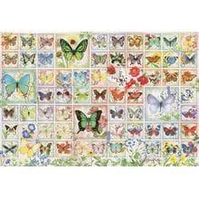 Пазл Cobble Hill, 2000 элементов - Бабочки и цветы