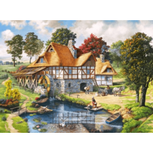 Пазл Castorland, 2000 элементов - Водяная мельница