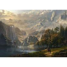 Пазл Schmidt, 1000 элементов - Пейзаж с водопадом