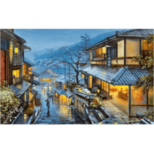 Пазл Pintoo, 4000 элементов - Е. Лушпин: Старый Киото