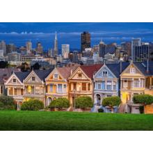 Пазл Castorland, 1000 элементов - Разукрашенные леди, Сан-Франциско