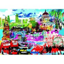 Пазл Heye, 1000 элементов - McCall: Я люблю Лондон