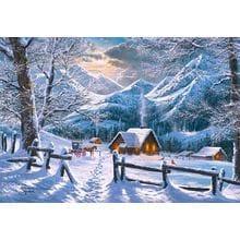 Пазл Castorland, 1500 элементов - Зимнее утро