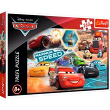 Пазл Trefl, 260 элементов - Парад чемпионов, Disney Cars