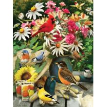Пазл Cobble Hill, 500 элементов - Птицы в саду