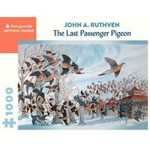 Пазл Pomegranate, 1000 элементов - Дж.Ратвен: Последний странствующий голубь