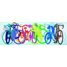 Пазл Heye, 1000 элементов - Яркие велосипеды