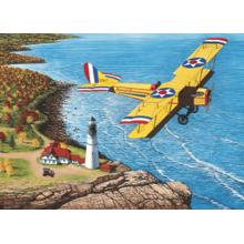 Пазл Cobble Hill, 1000 элементов - Самолет над морем