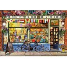 Пазл Educa, 5000 элементов - Книжный магазин