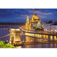 Пазл Castorland, 2000 элементов - Будапешт в сумерках