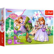 Пазл Trefl, 60 элементов - Приключения принцессы Софии