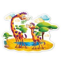 Пазл Castorland, 12 элементов - Жирафы в саванне