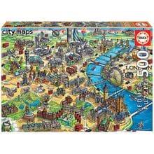 Пазл Educa, 500 элементов - Карта Лондона