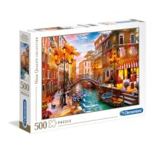 Пазл Clementoni, 500 элементов - Закат в Венеции