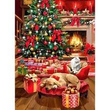 Пазл Clementoni, 1000 элементов - Рождество