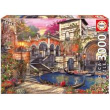 Пазл Educa, 3000 элементов - Венецианский роман
