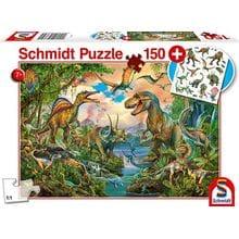 Пазл Schmidt, 150 элементов - Динозавры