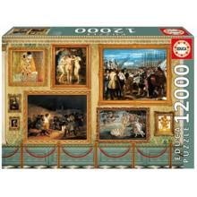 Пазл Educa, 12000 элементов - Музей шедевров