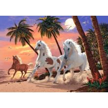 Пазл Castorland, 1500 элементов - Белые лошади