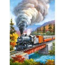 Пазл Castorland, 500 элементов - Железная дорога