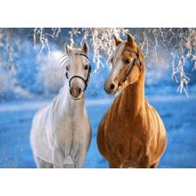 Пазл Castorland, 260 элементов - Лошади зимой