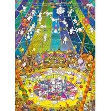 Пазл Clementoni, 1000 элементов - Mordillo: Цирк