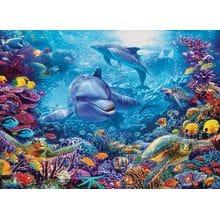 Пазл Cobble Hill, 1000 элементов - Игра дельфинов